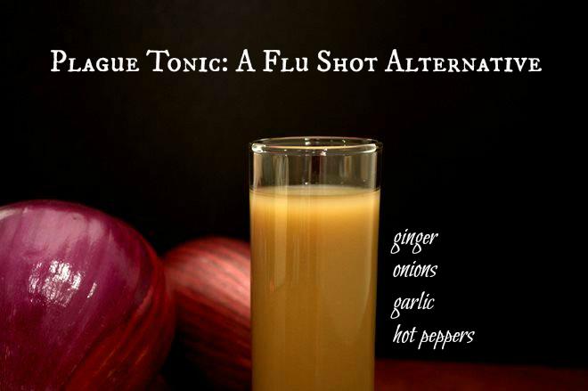 Plague Tonic: A Flu Shot Alternative