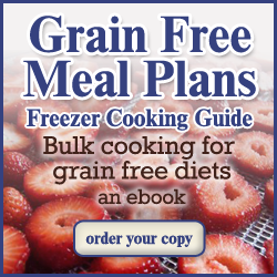 Freezer Cooking: The Secret to Success on the GAPS Diet