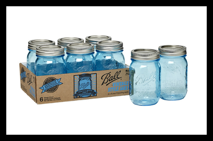 !Giveaway! 6 American Heritage Collection Vintage-Style Ball Jars