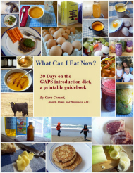 What Can I Eat Now? 30 Days on the GAPS Introduction Diet