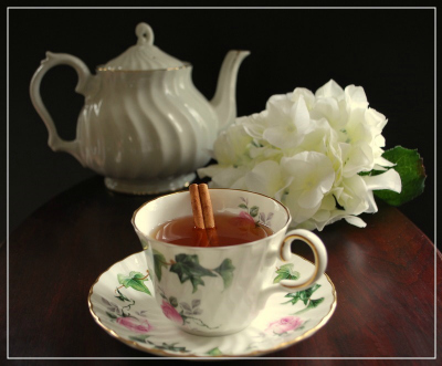Stress-Relieving Chai Tea with Adaptogenic Herbs