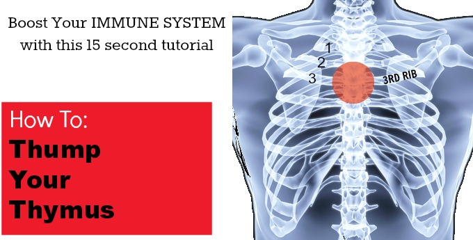 Top 10 Posts of 2013 - Boost Your Immune System: How To Thump Your Thymus