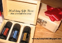 How I Save Money with Bundle Discounts - doTerra hoilday gift box