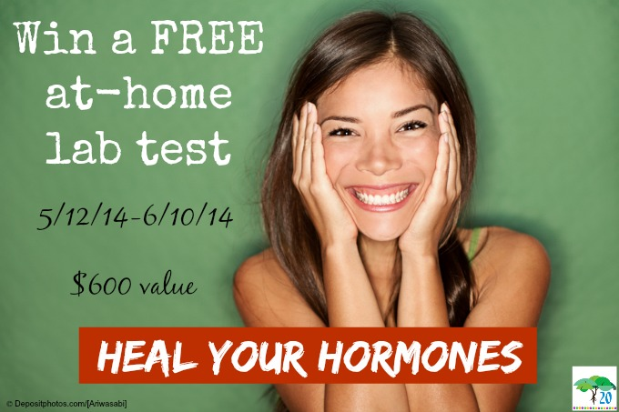 Free At-Home Hormone Panel Lab Test to One Lucky Winner (giveaway value $600)