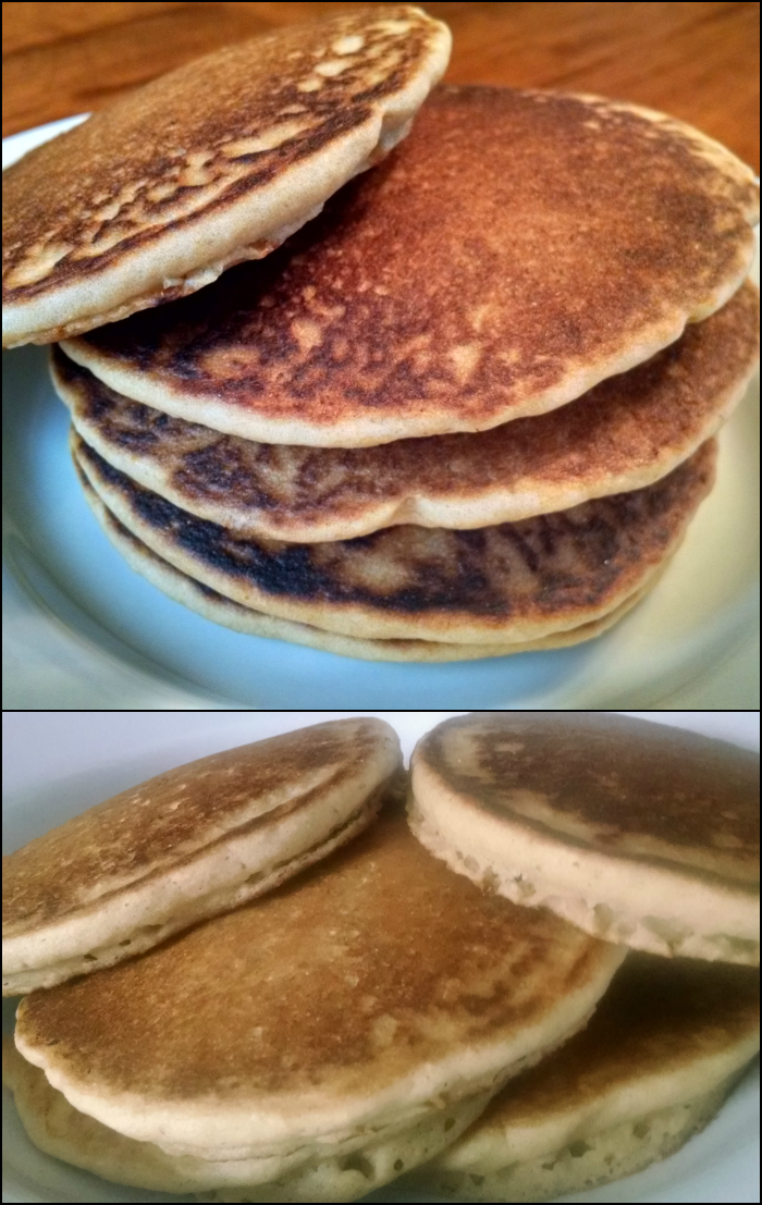 Finally! Puffy Fluffy Gluten-free Pancakes